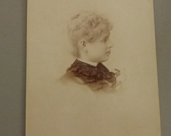 Antique Cabinet Card Portrait  CC261