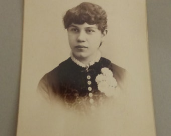 Antique Cabinet Card Portrait  CC269