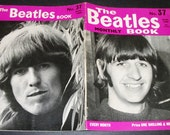 Original Aug 1966 The Beatles  Monthly Book #37