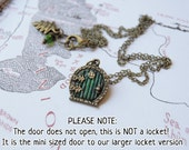 SMALL Green Door *This is a smaller size, NOT A LOCKET*-Mini Sized-
