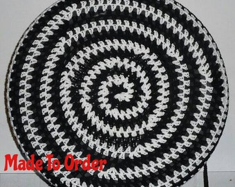 Spirals Granny Crochet Spare Tire Cover