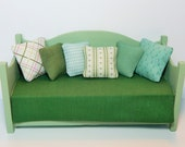 Dollhouse Miniature Six Pillows Reserved for sueg1112