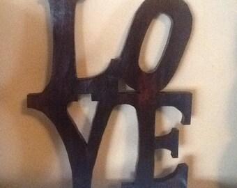 LOVE Sign Wall  Home Decor