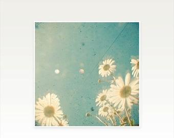 SALE 30% OFF Daisy Art print, Floral Wall Art - Daydream