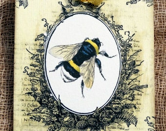 Queen Bee Honey Bee Tags #303