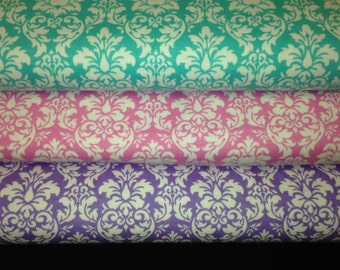 Flannel Damask Heated Neck Wrap, Corn Heating Pad, Microwavable Neck Warmer - Flannel Damask 3 Color Selections
