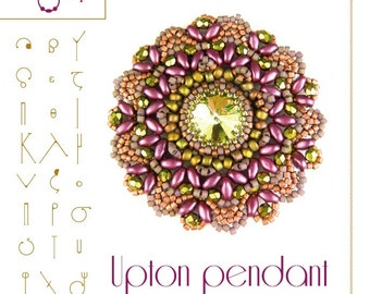pendant tutorial / pattern Upton pendant...PDF instruction for personal use only