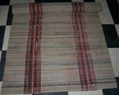 RUNNER RUG Antique American Woven Beige Rainbow