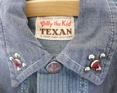 Vintage Billy The Kid TEXAN Child's Studded Jacket Size 5-7 SALE