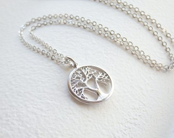 Silver Little Tree of Life Necklace