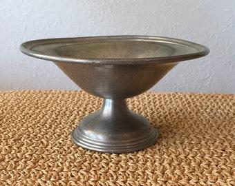 Pewter Pedestal Dish