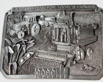 Case Tractor Belt Buckle A Fresh Team For Todays Farmer USA