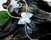 Coeur hiver Collection Tournesaules collier de mariage