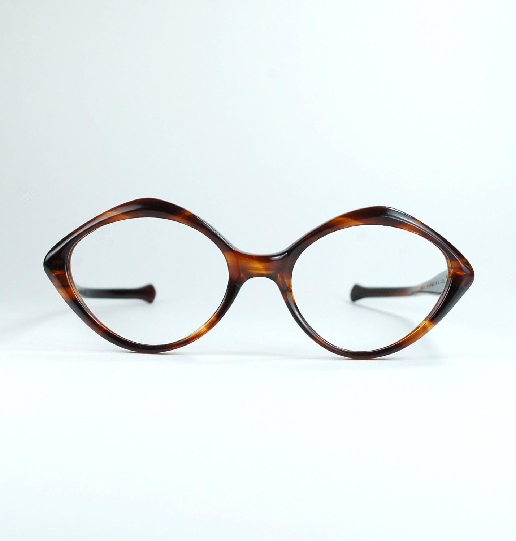 Dreieck Schildkröte Französisch Cat Eye Brillen Frames