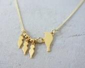 Baby Bird Necklace, mother's day gift, keepsake necklace, minimalist necklace