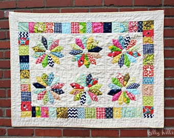 Design a custom hand-quilted, heirloom baby quilt with kellyhillis