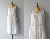 Comme L'Air dress | 1920s embroidered dress • vintage 20s dress