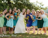 Bridesmaid Dresses for Your Wedding Cotton Handmade in USA Mismatched