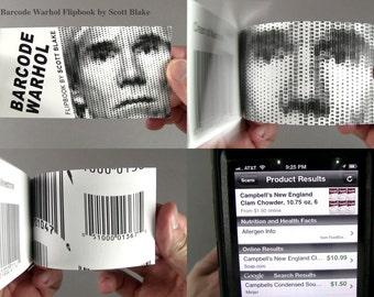 Barcode Warhol Flipbook