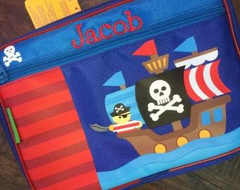 Stephen Joseph Monogrammed Pirate Ship Lunchbox