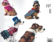 DOG CLOTHES PATTERN / Make Sherlock Holmes - Steampunk Outfits / Boys and Girls Coat and Hat / Small to Extra Large Dogs