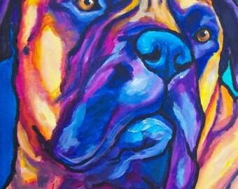 Bull Mastiff 11x14