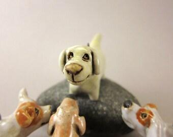 Lemon...Portable Miniature Pet - Stoneware Pendant