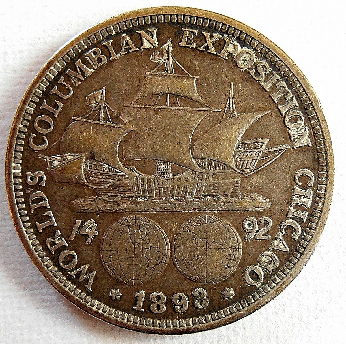 worlds columbian exposition chicago 1893 coin