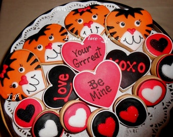 Your Grreat Valentine's Day Cookies - 16 Cookies
