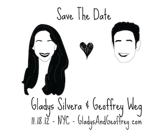 Custom Save the Date Art