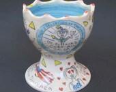 Lauren's 4 items: salasa bowl, 2 noah mugs and 1 Wally mug