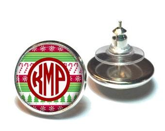 "Shop ""christmas monogram"" in Jewelry"