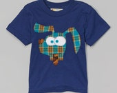 Boys Silly Dog Applique Shirt
