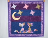 Cat's Night Out baby quilt  NEW ITEM!!!