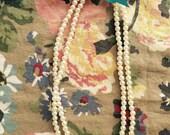 Pearl Beaded Necklace... Dressbabybeautiful