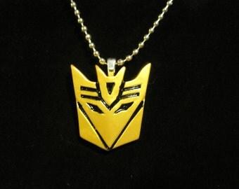 Transformers Decepticon Necklace