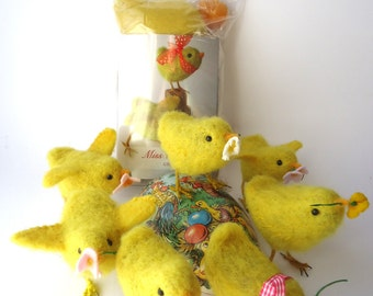 Chicks away! Make your own Fluffy Chicks with Needle felting Kit from Miss Bumbles