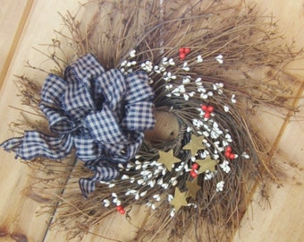 Wreath, Door or Wall,  Country Home, All Seasons