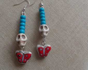Turquoise Day of the dead