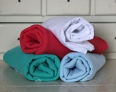 Large Cotton Gauze/Muslin Baby Swaddling Blanket-CHOOSE YOUR COLOR-Baby boy and girl swaddling blankets-Lightweight newborn baby blanket