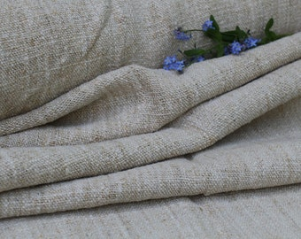 C 274 antique PLAIN ROLL upholstering fabric runner cushion 9.07 y handloomed 26.38 inches wide biological fabric