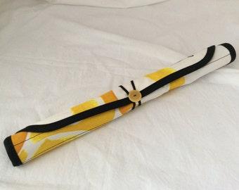 Straight Needle Case holds 10 pairs of straight needles