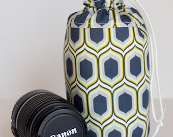 NEW Blue Drop Lens Luggage (ready to ship) - large