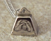 Cute Cowbell Necklace