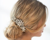 Bridal Hair Comb, Crystal and Pearl Comb, Wedding Hair Comb