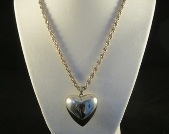 A Heavy Heart Necklace