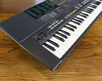 Yamaha PSS-480 Mini Keys Synthesizer Keyboard 1980's Musicstation