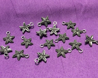 Starfish Pewter Charms