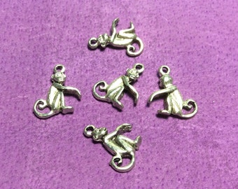 Monkey Pewter Charms