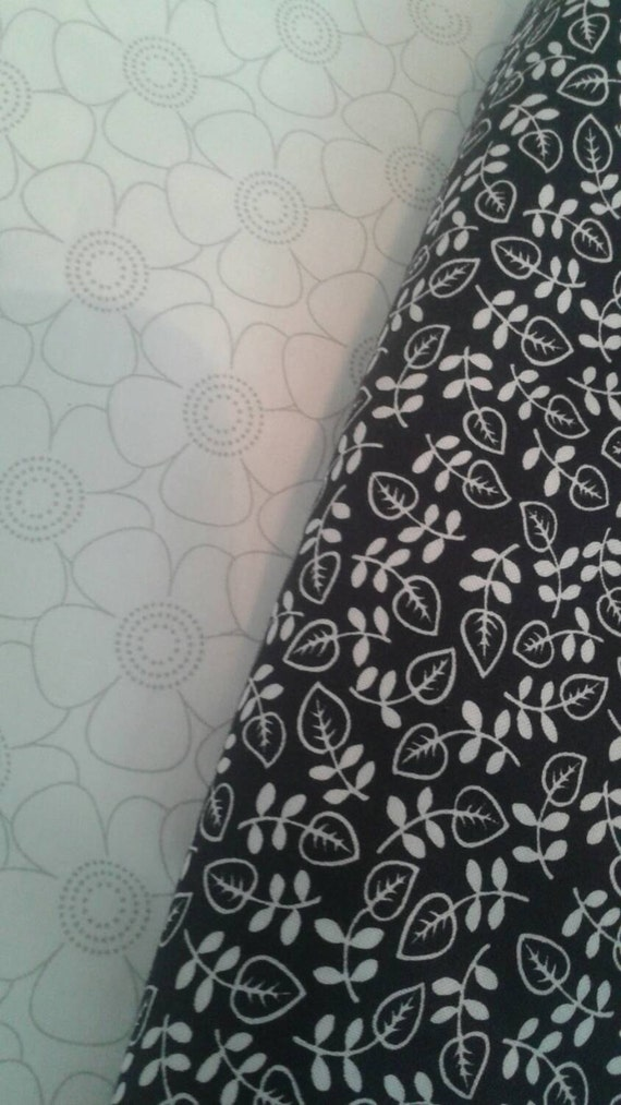 Black And White Fat Quarters 65